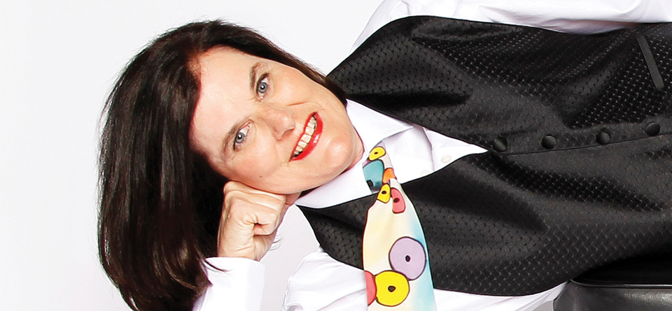 Just announced! Paula Poundstone