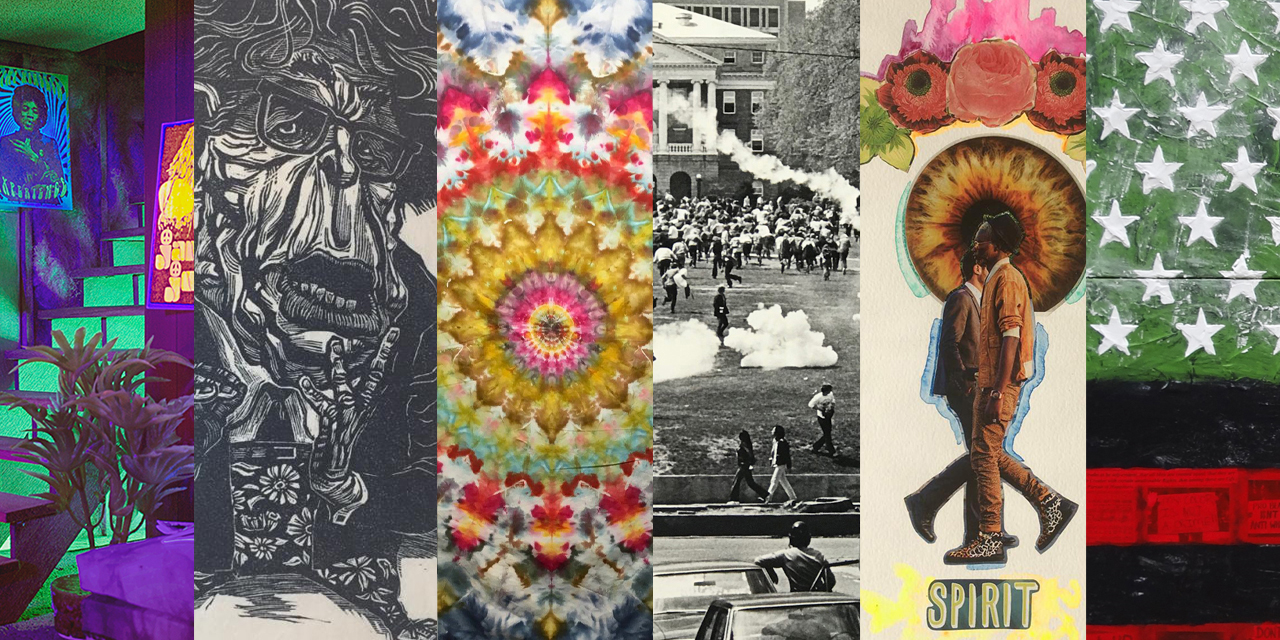 Playhouse Gallery Reception - The Sixties Revisited