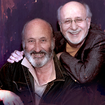 Peter Yarrow and Noel Paul Stookey<br><br> of Peter, Paul, and Mary