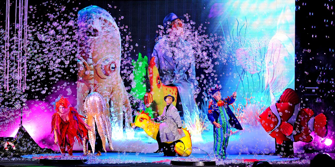 OnStage Student Field Trip - B - The Underwater Bubble Show