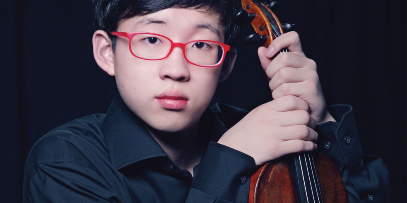 Wisconsin Chamber Orchestra with Julian Rhee, Violin
