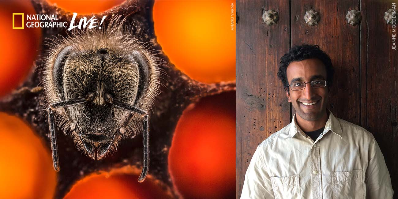National Geographic Live - Invisible Wonders with Anand Varma