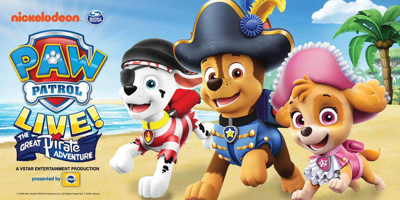 PAW Patrol Live! - The Great Pirate Adventure