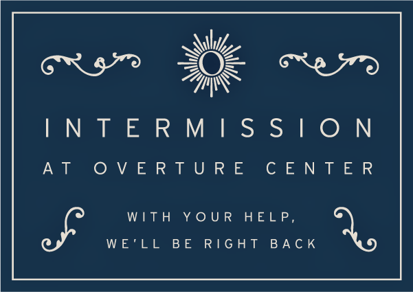 Intermission Campaign Blue Logo