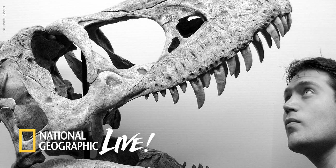 National Geographic Live - Reimagining Dinosaurs