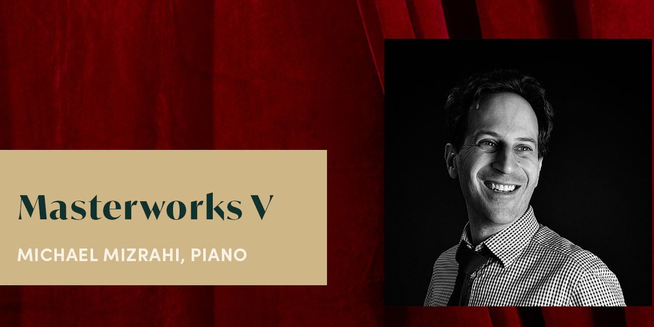 Wisconsin Chamber Orchestra with Michael Mizrahi, Piano