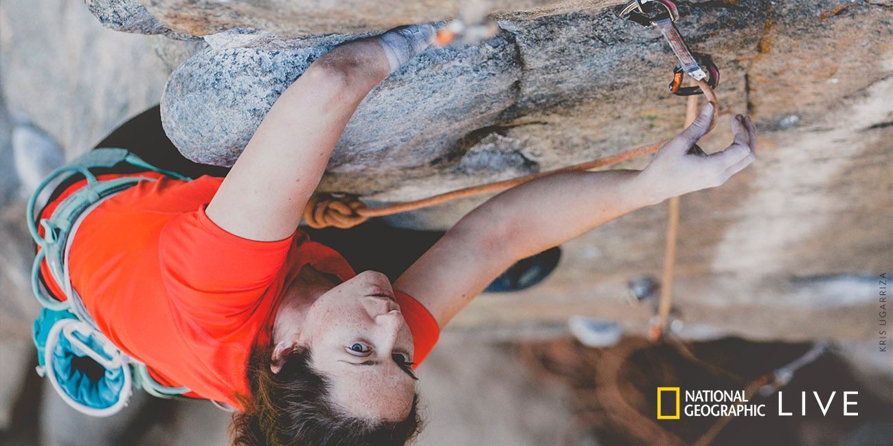 National Geographic Live - Improbable Ascent with Maureen Beck