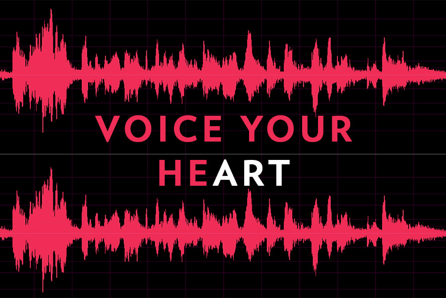 Voice Your Heart Graphic