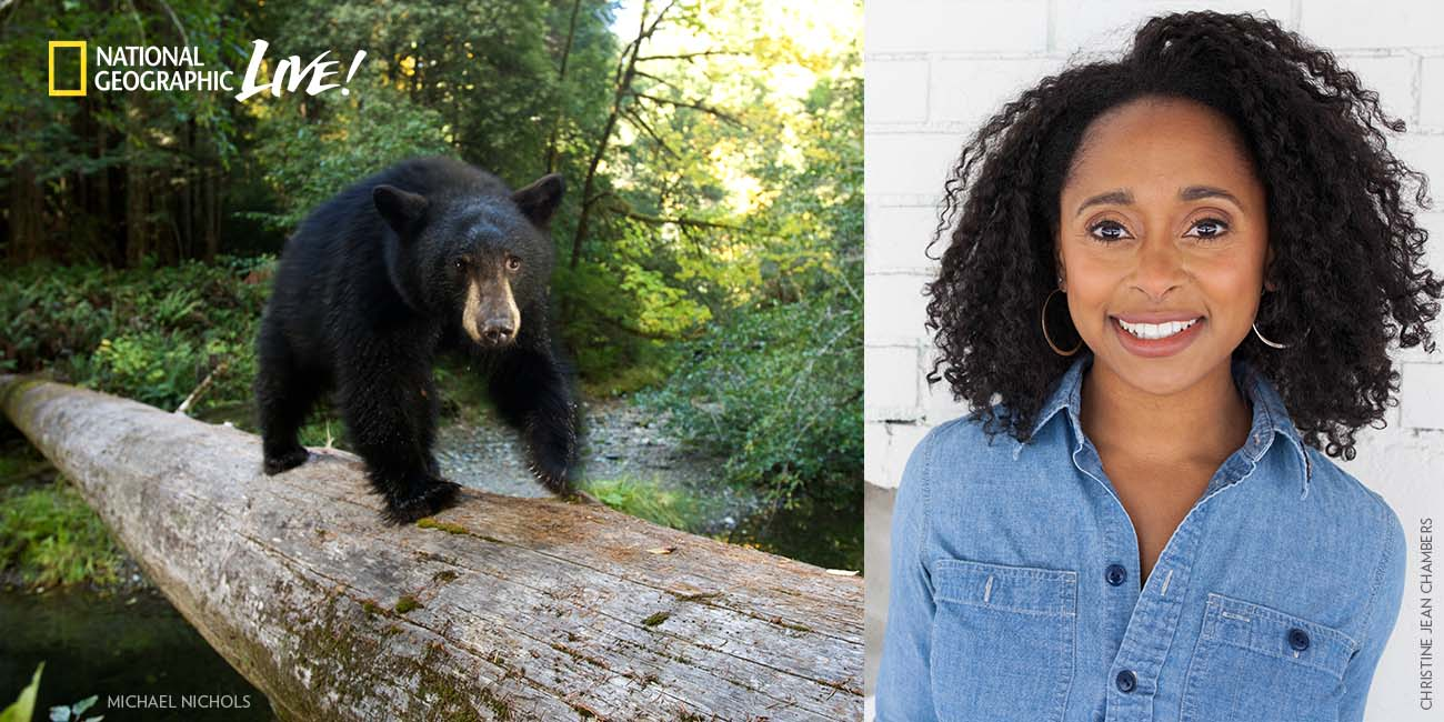 National Geographic Live - The Secret Life of Bears with Rae Wynn-Grant