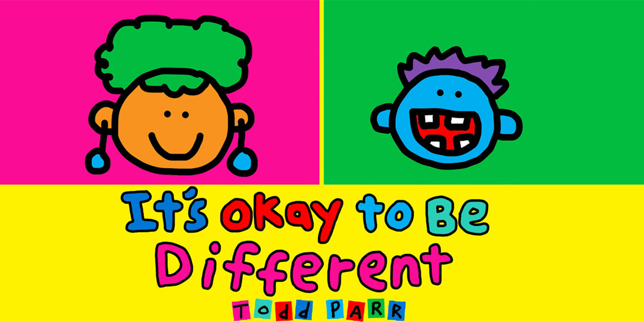 It's Okay to Be Different - Stories by Todd Parr